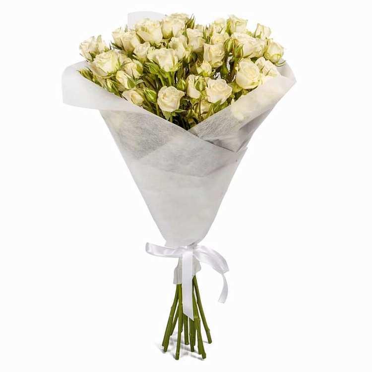 Розы кустовые букет ростов